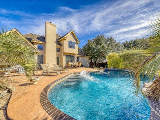 Outdoor pool of San Antonio vacation home