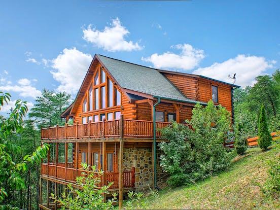 cabin in pigeon forge, tn