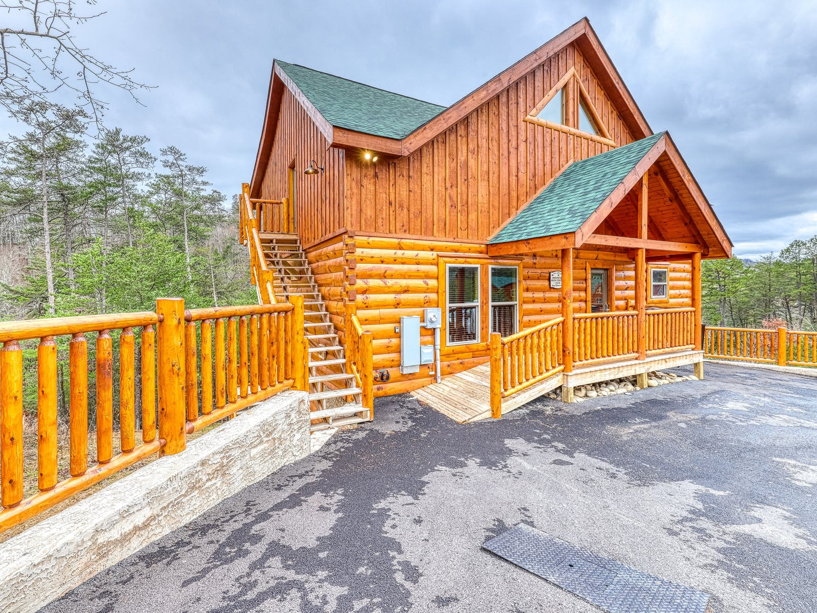 cabin in Smoky Mountains National Park