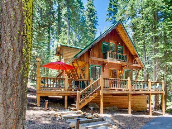 vacation cabin in tahoe, ca