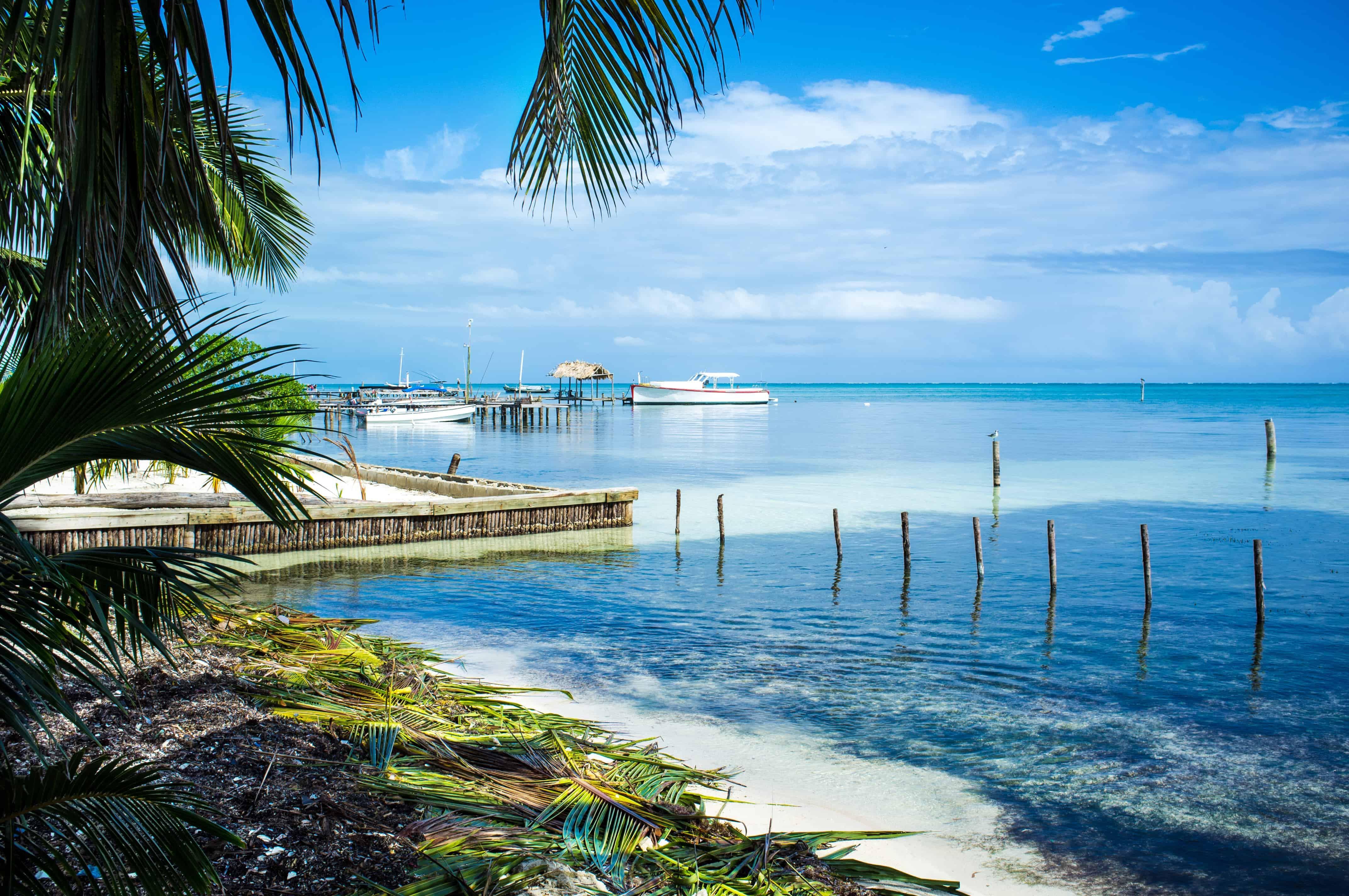 most beautiful belize beach