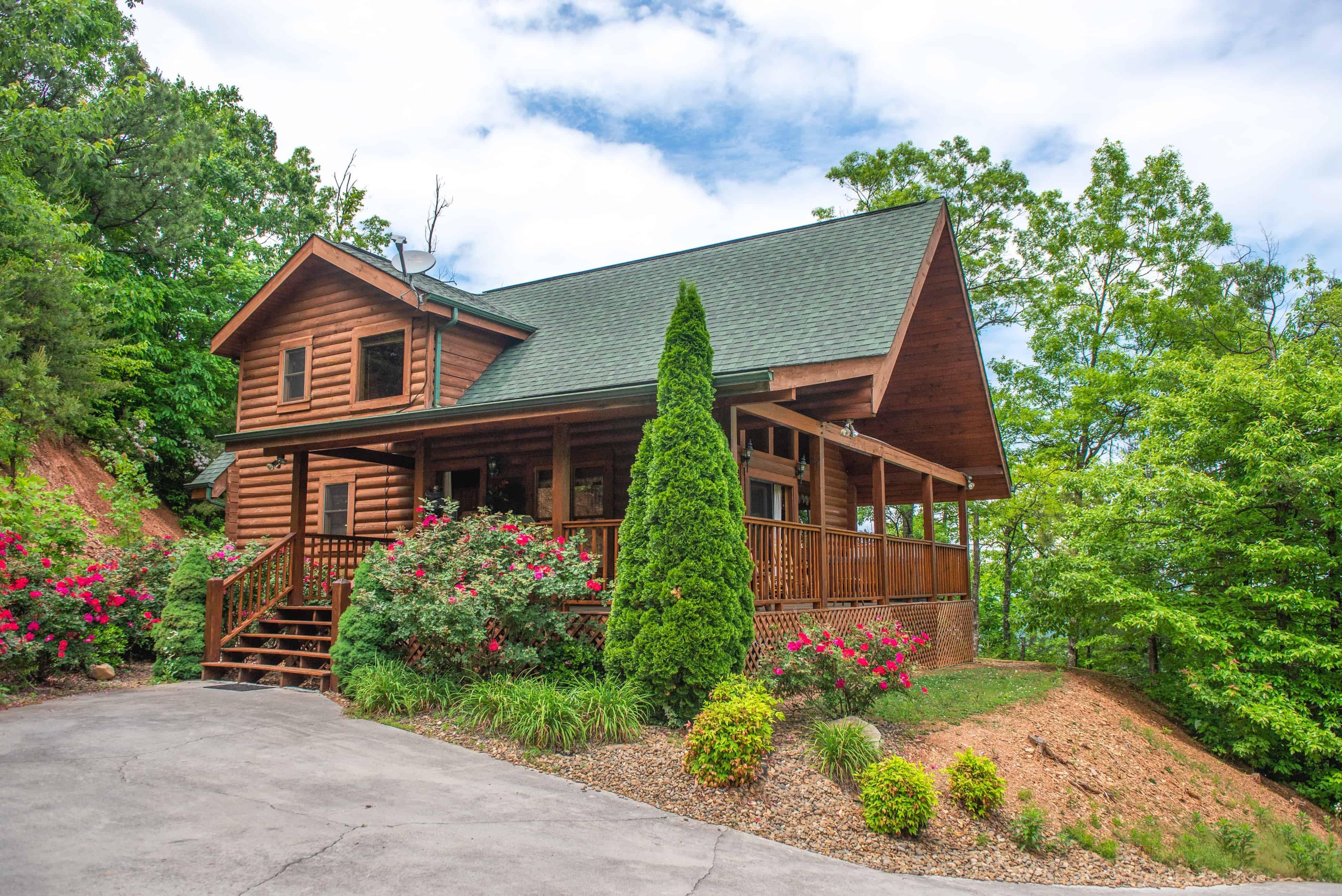 a log cabin in blue ridge georgia