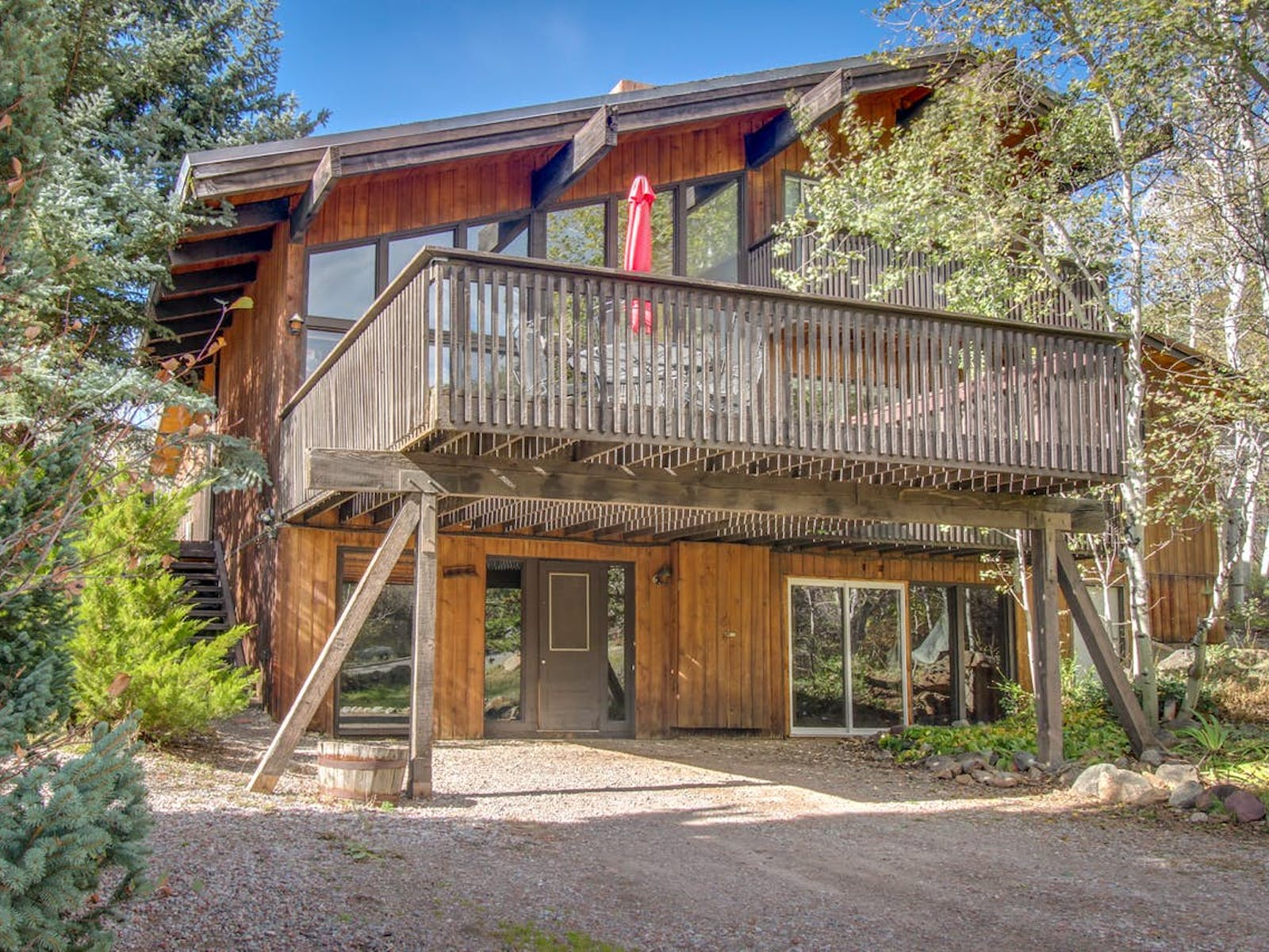 Aspen, CO vacation rental surrounded by woods