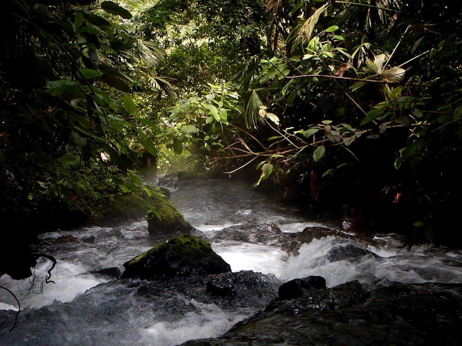 EcoTermales hot springs in Costa Rica