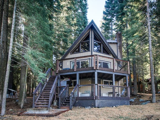 a-frame style dog-friendly vacation home in truckee, ca