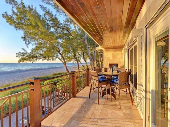 anna maria island beachfront vacation rental