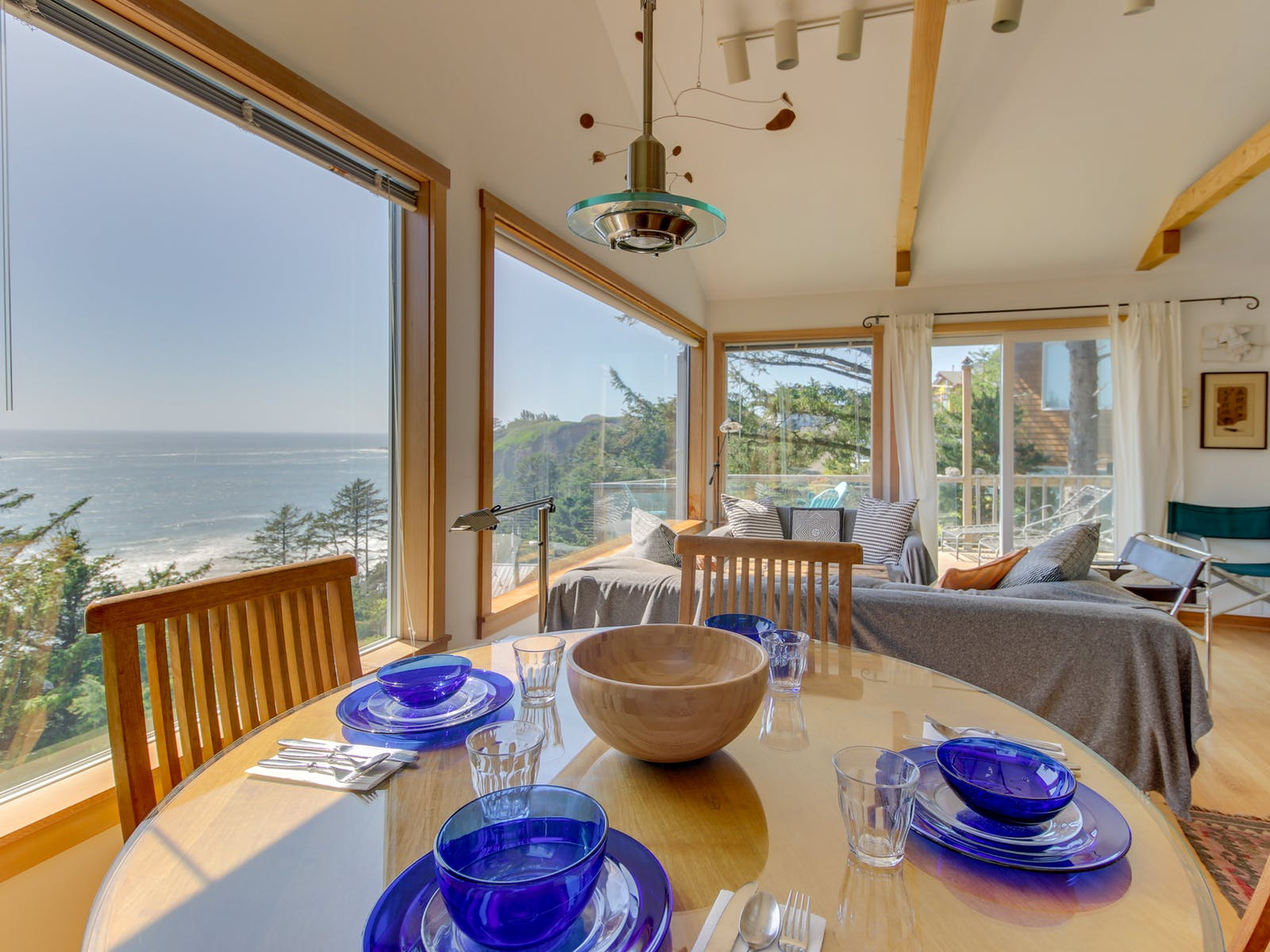 vacation home with ocean views in Oceanside, OR