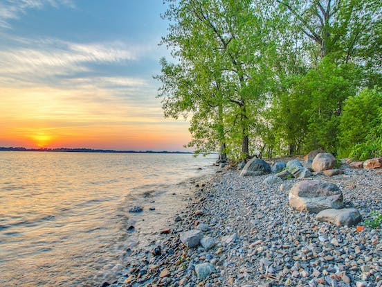 shores of lake champlain