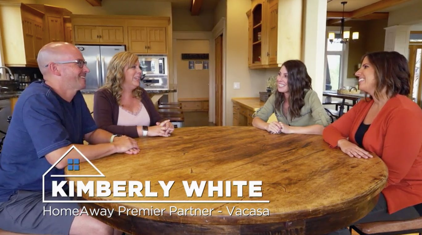 """A&E reality series """"Vacation Rental Potential"""" premiered, starring Vacasa's senior director of design services, Kimberly White"""