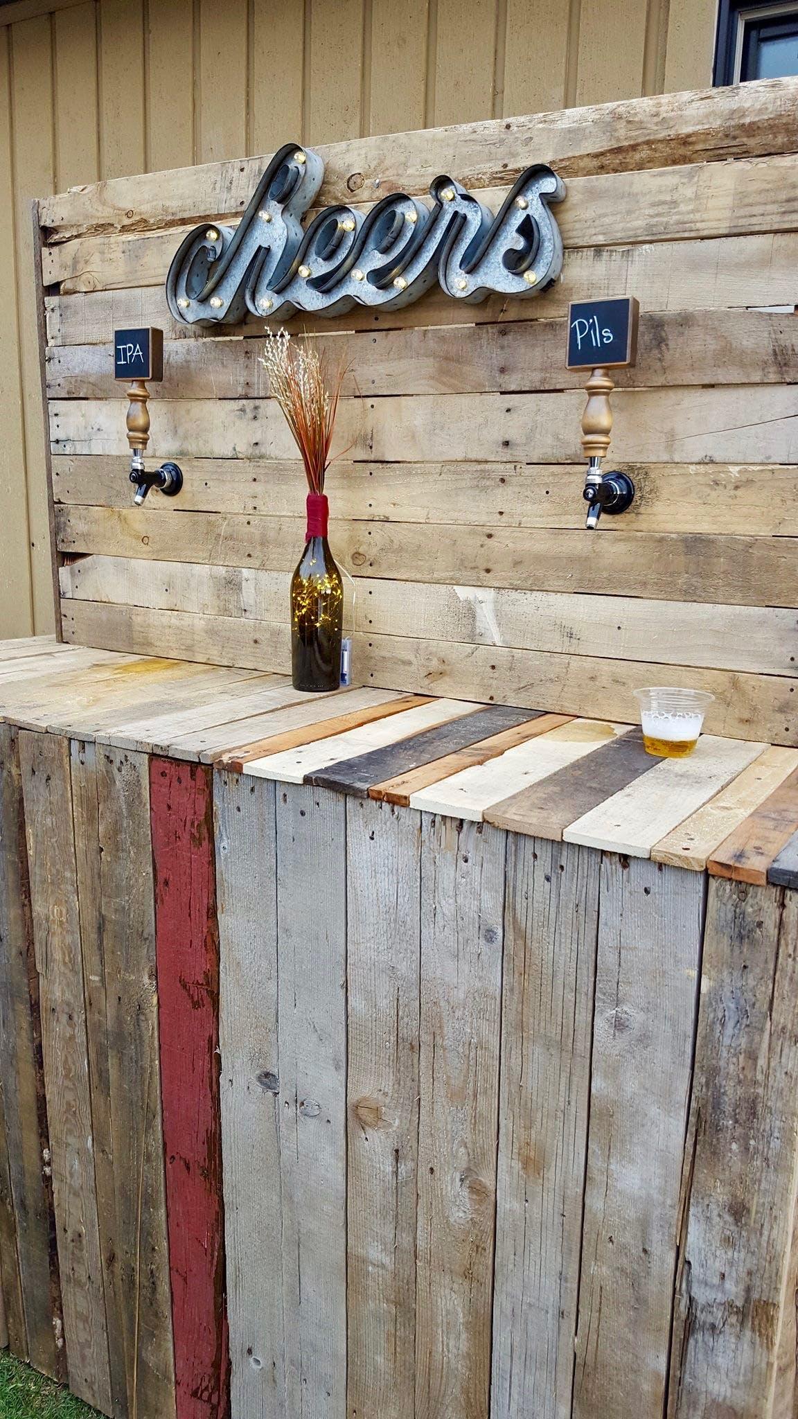Beer on tap for Bogus Basin wedding
