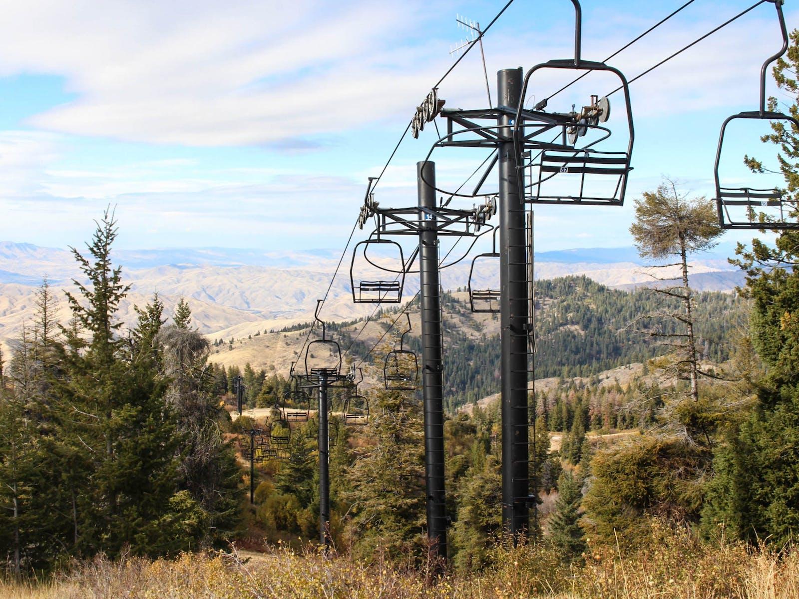 Ski Lifts in Bogus Basin