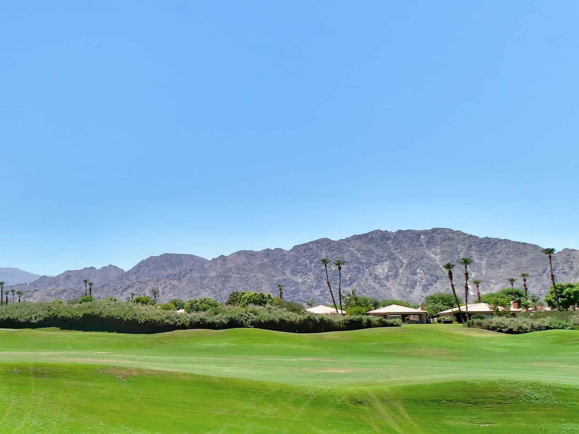 Golf course in Coachella Valley, CA