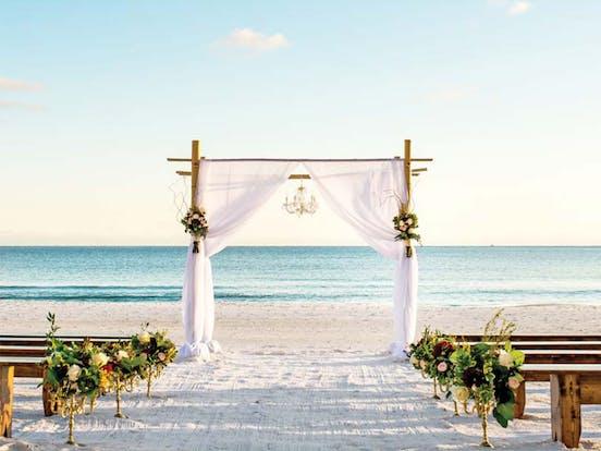 wedding on the beach in florida