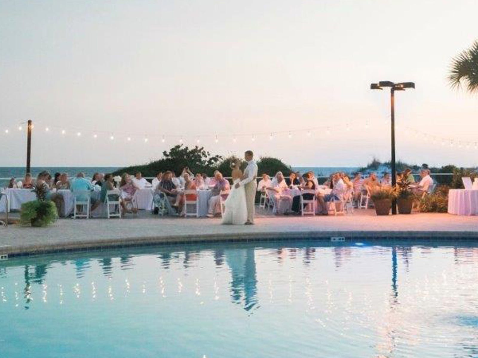 Weddings at TOPS'L Beach & Racquet Resort - Blue Dunes Deck