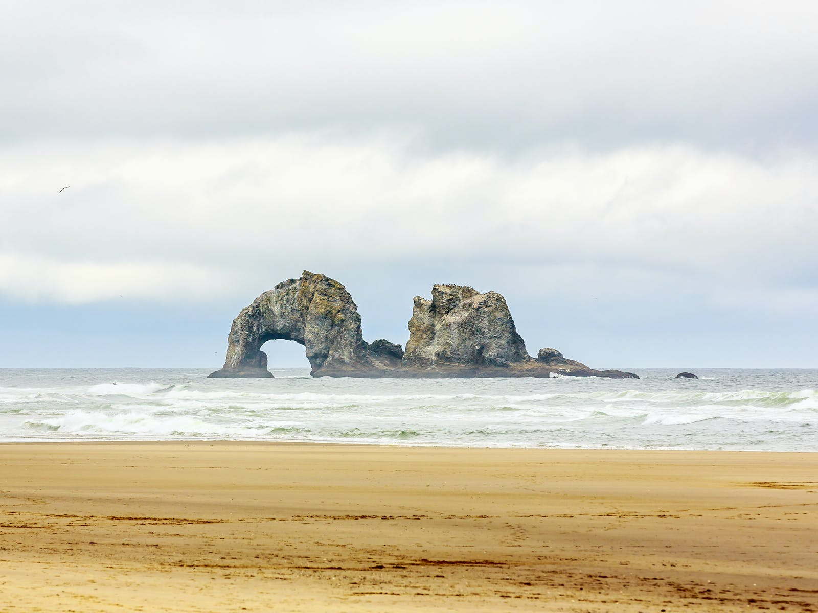 Rockaway Beach, OR rock formations