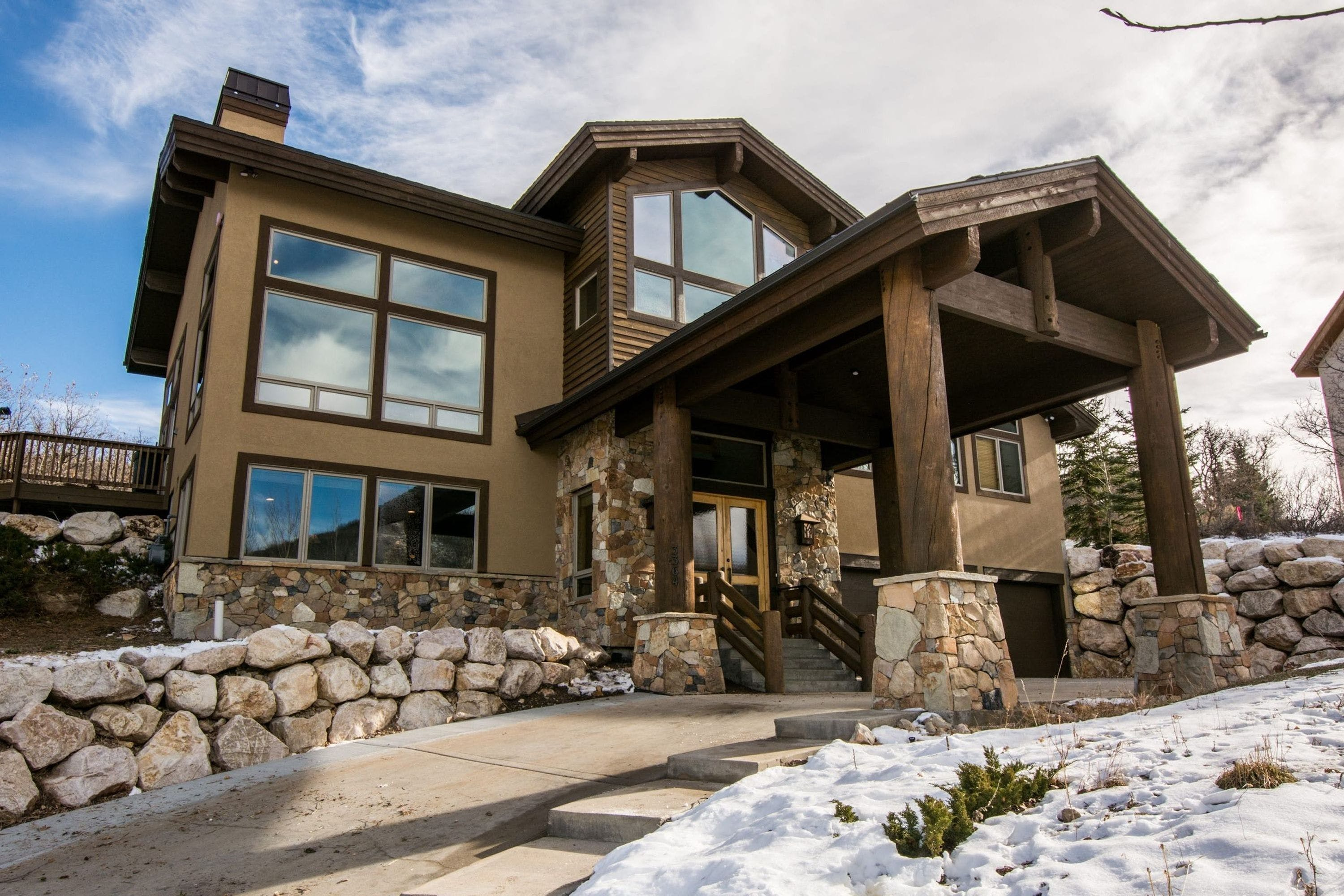 A luxury cabin in Park City, Utah