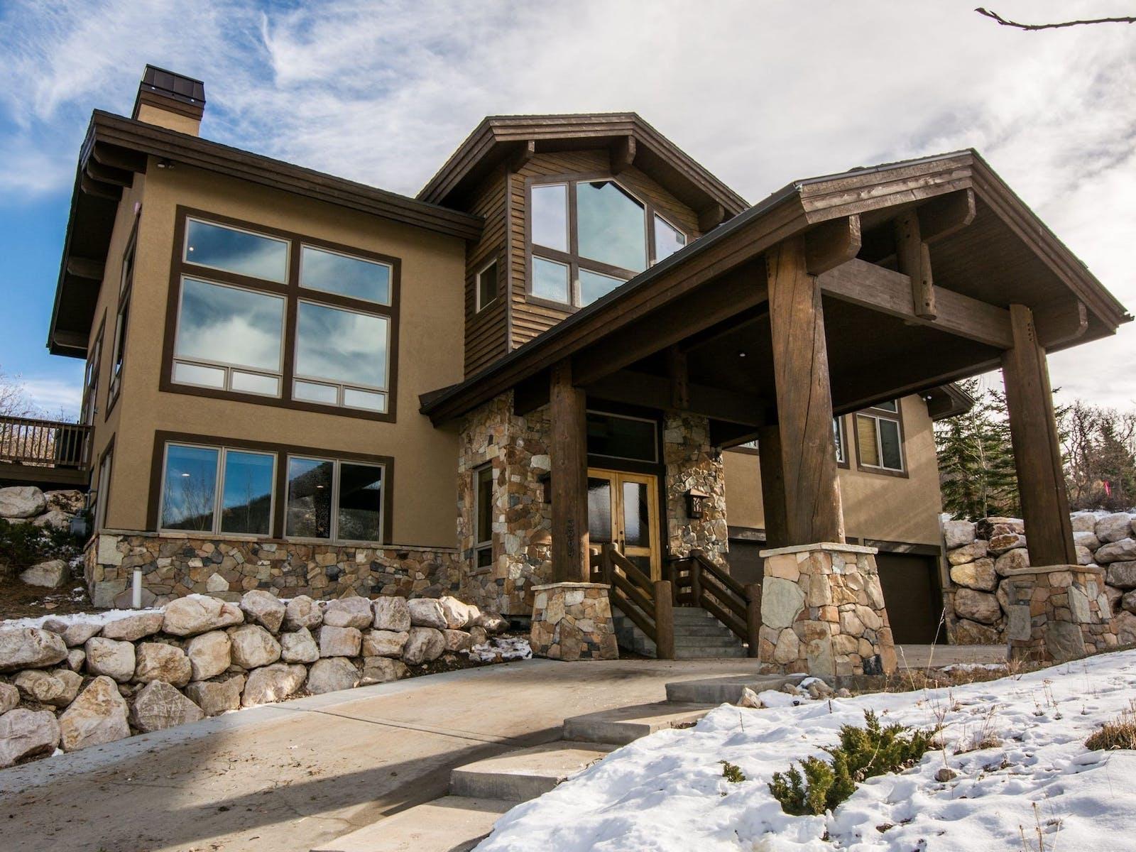 A luxury cabin in Park City, Utah