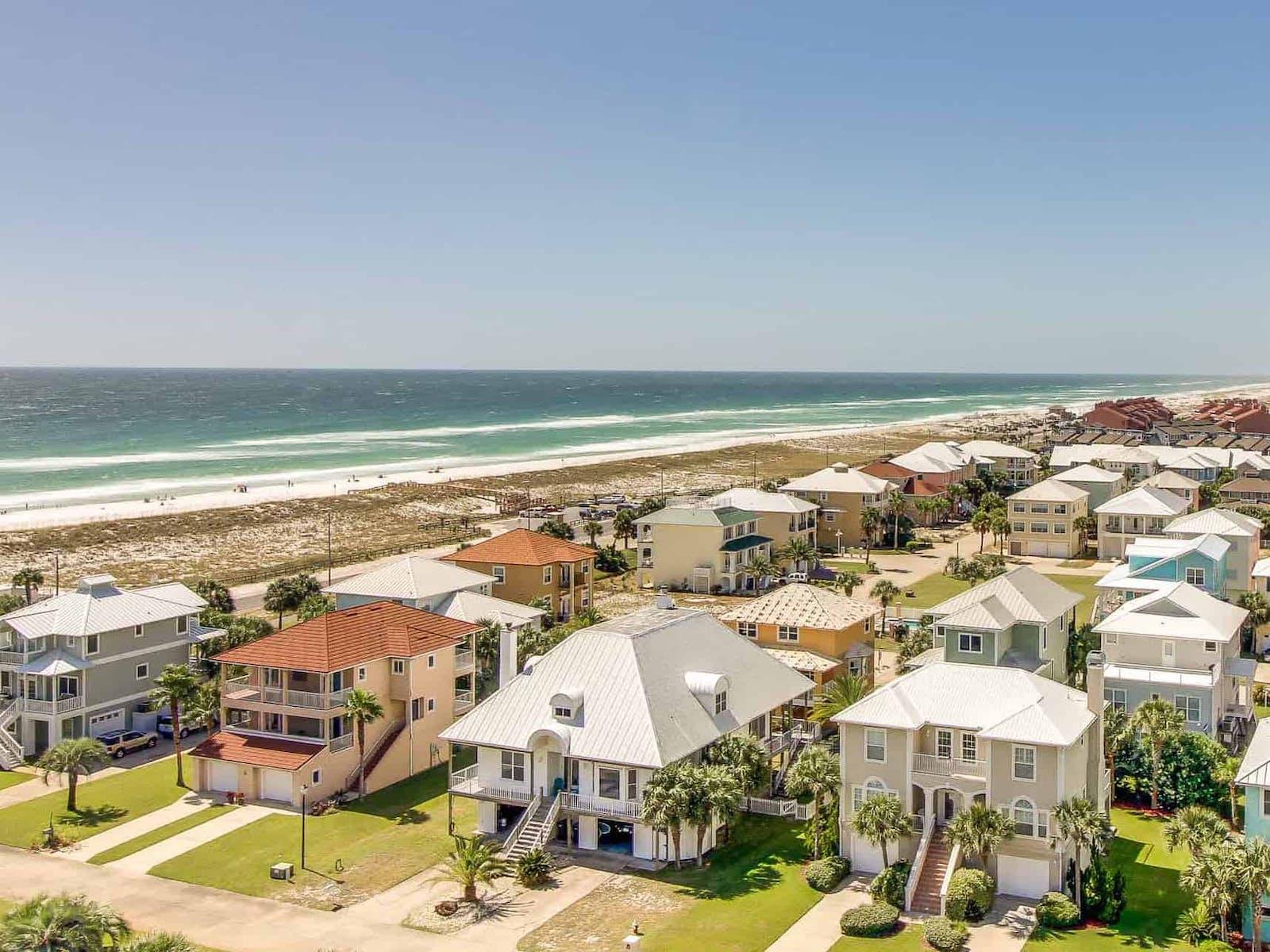 Beach houses in Pensacola Beach, FL