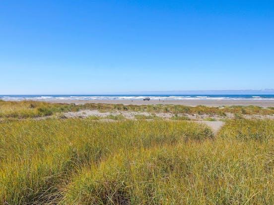 beautiful beach in Moclips, WA
