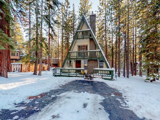 South Lake Tahoe a-frame vacation rental