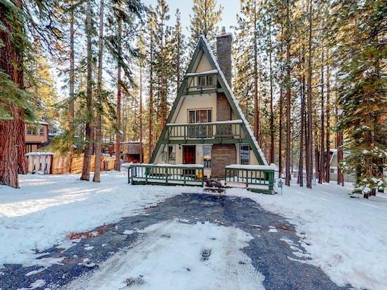 South Lake Tahoe a-frame vacation rental