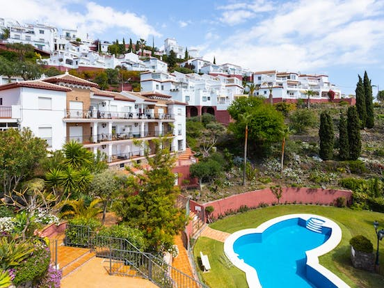 View of residential and vacation homes in Andalusia