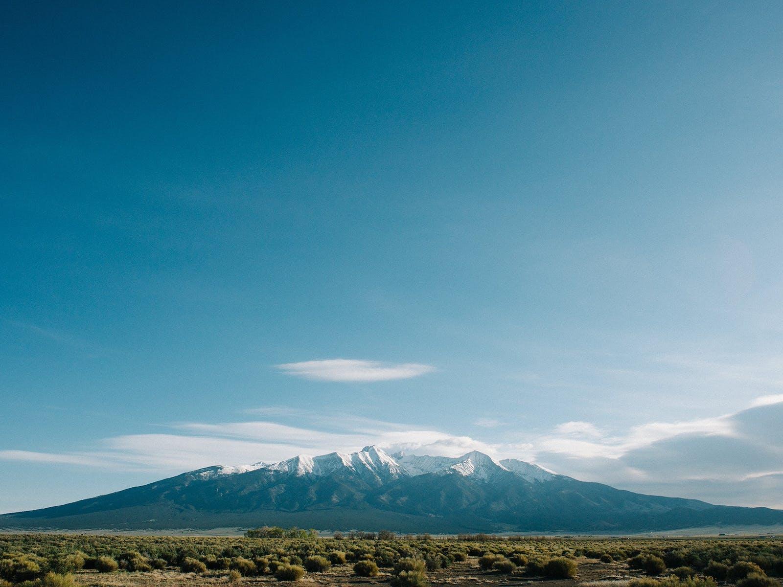 Colorado mountain peak