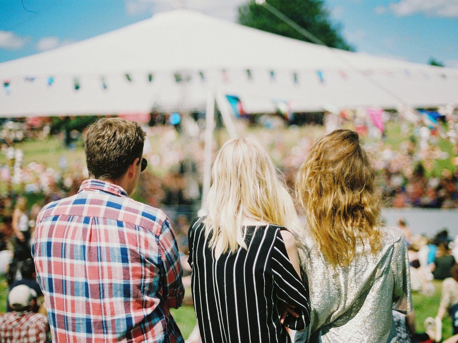 Stagecoach music festival in Coachella Valley, CA