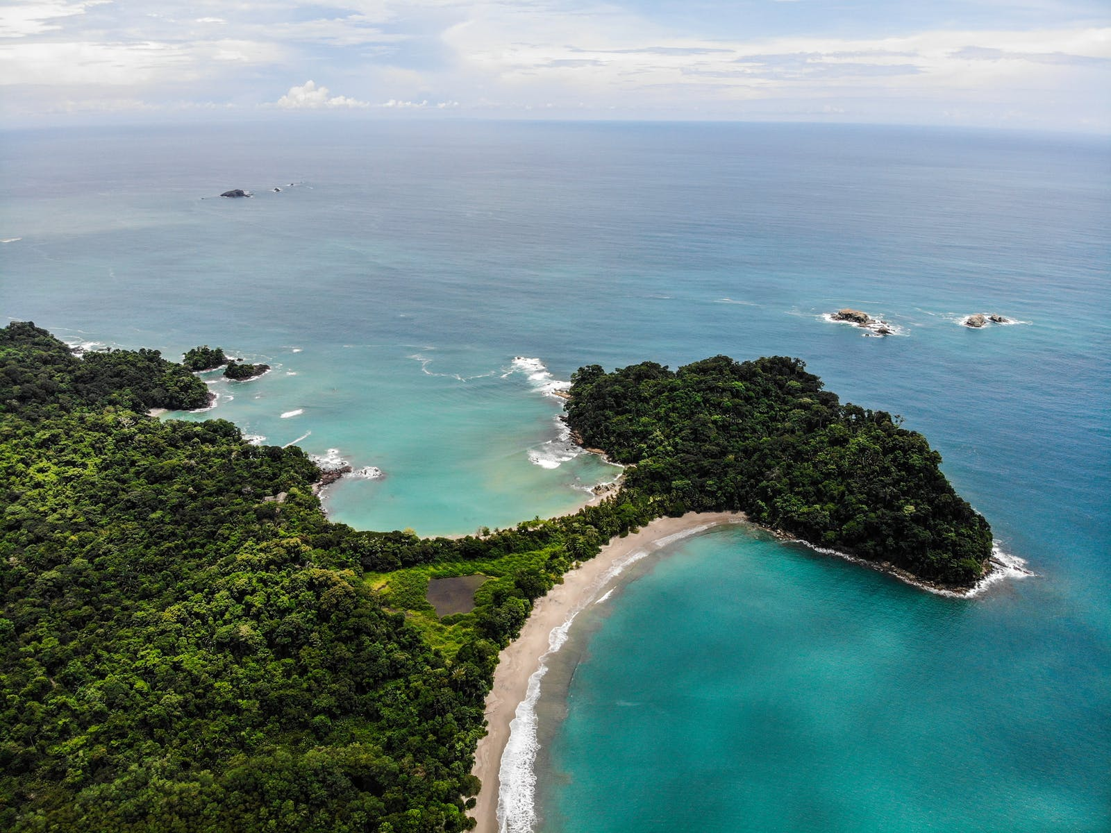 Playa Escondilla and Playa Manuel Antonio Costa Rica