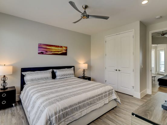Bedroom of Hilton Head vacation rental
