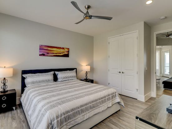 Bedroom of Hilton Head vacation rental
