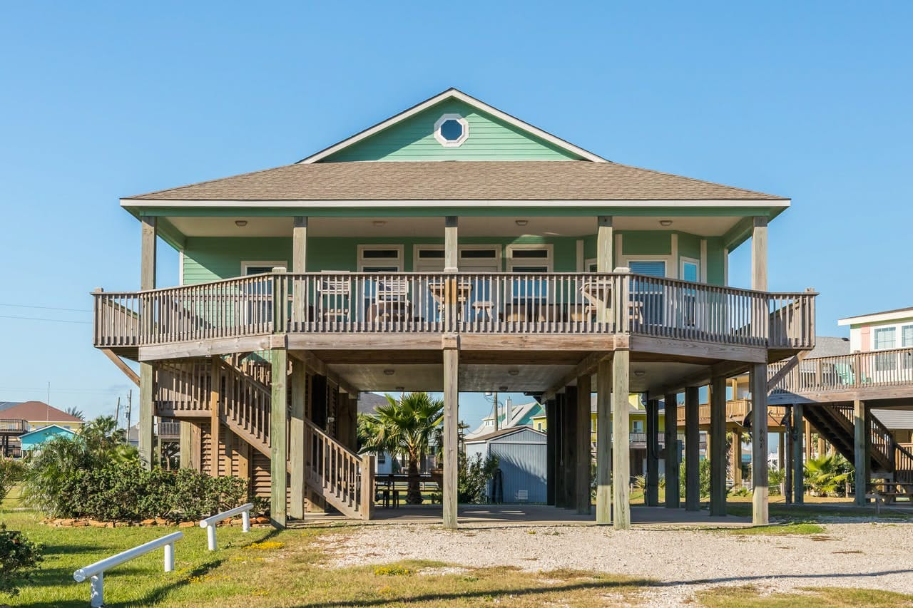 Crystal Beach, Texas beach house