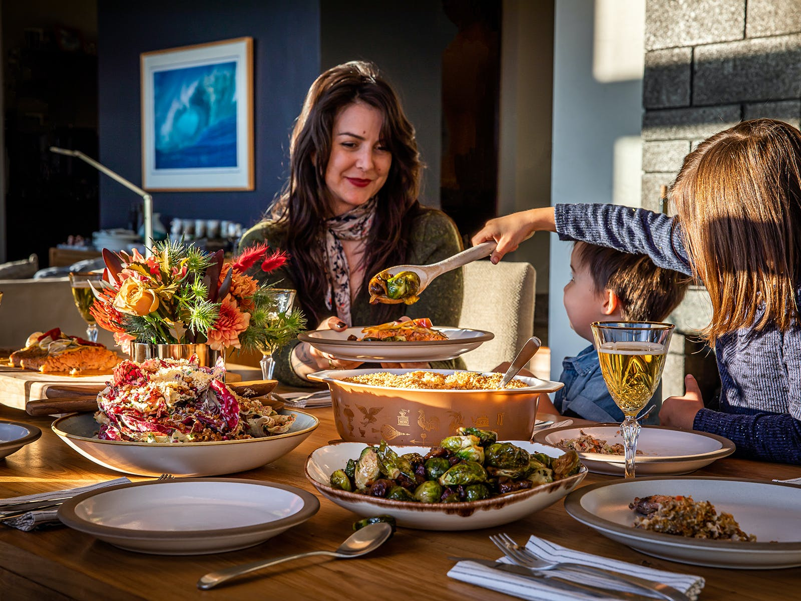 chef gabriel's family dishes up their holiday inspired meal