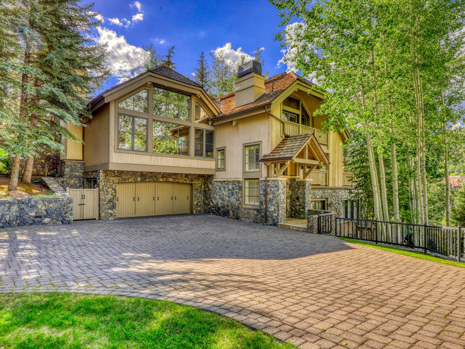 large vacation home in Colorado