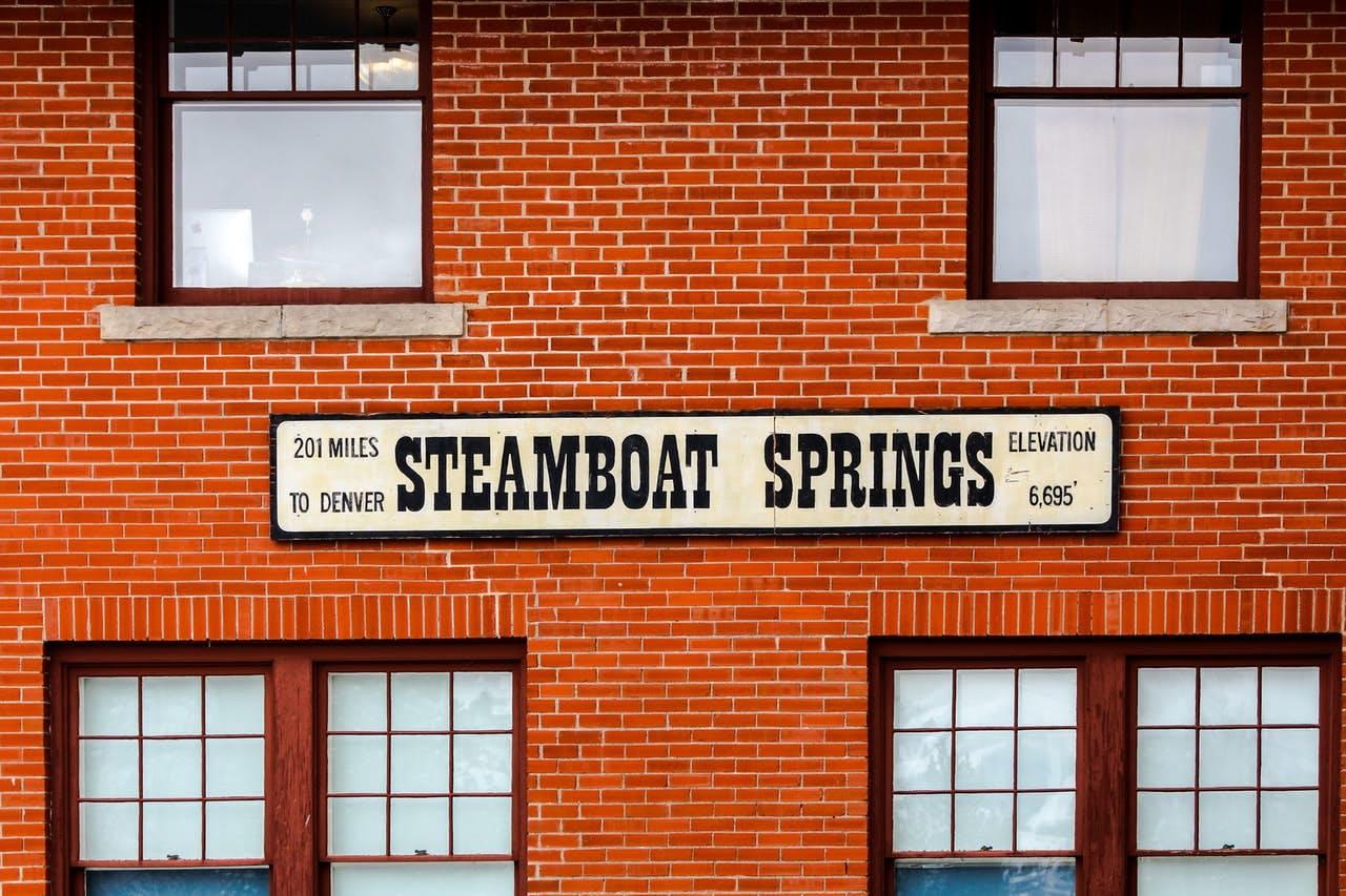 Steamboat Springs in Colorado