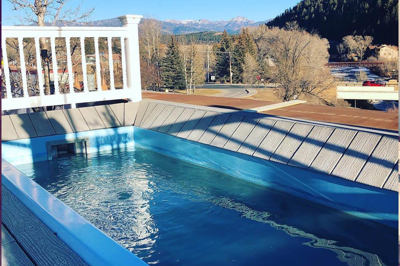 Overlook Hot Springs located in Colorado