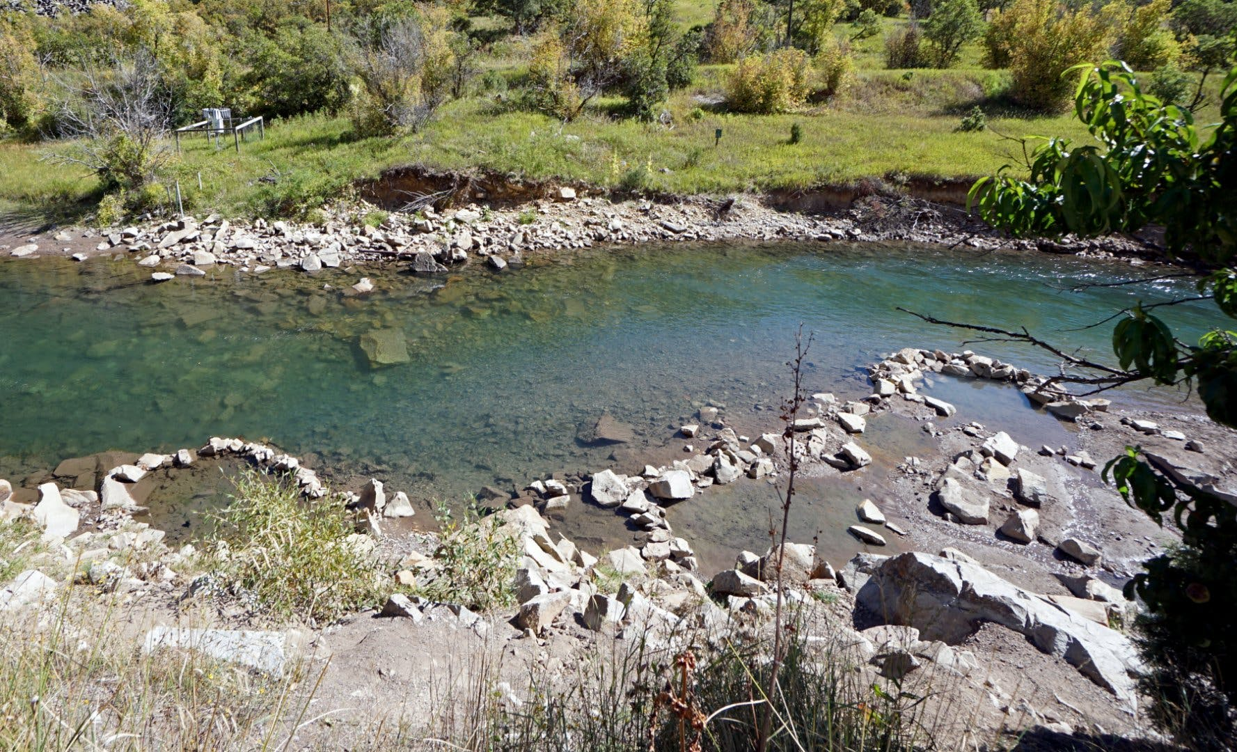 Penny Hot Springs on the Crystal River in Colorado