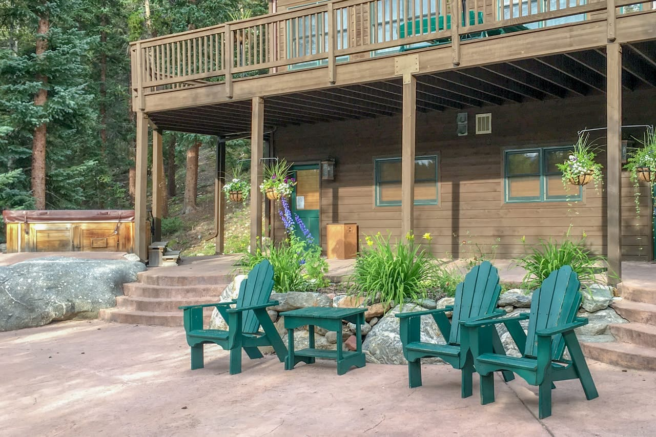Exterior of Breckenridge, CO cabin rental