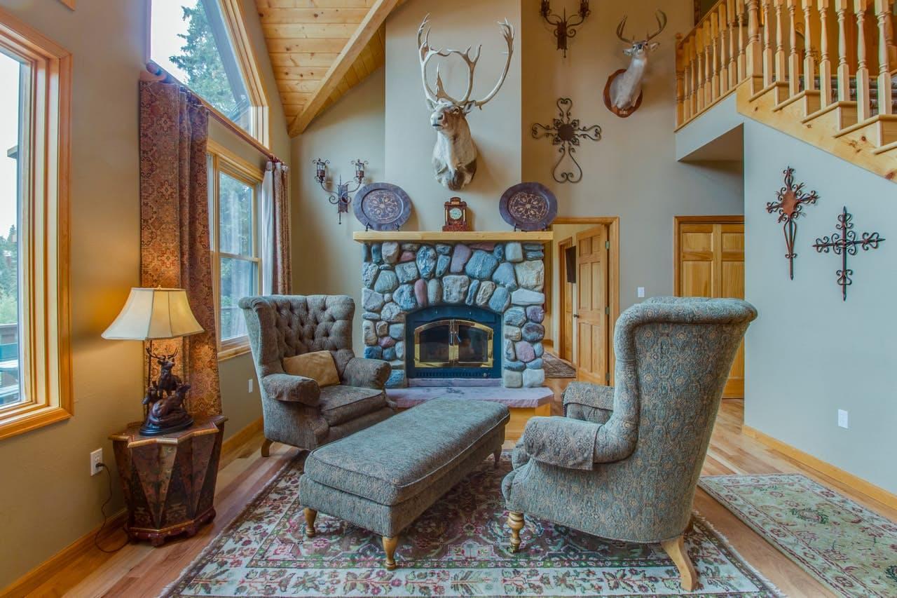 Interior of The Wagon Road Lodge located in Breckenridge, CO
