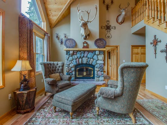 Interior of The Wagon Road Lodge located in Breckenridge, CO