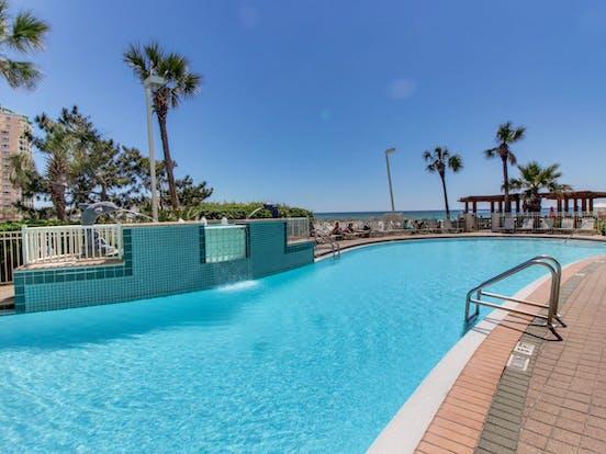 Outdoor pool located in Destin, FL