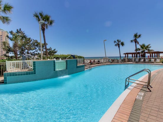 Outdoor pool located in Destin, FL