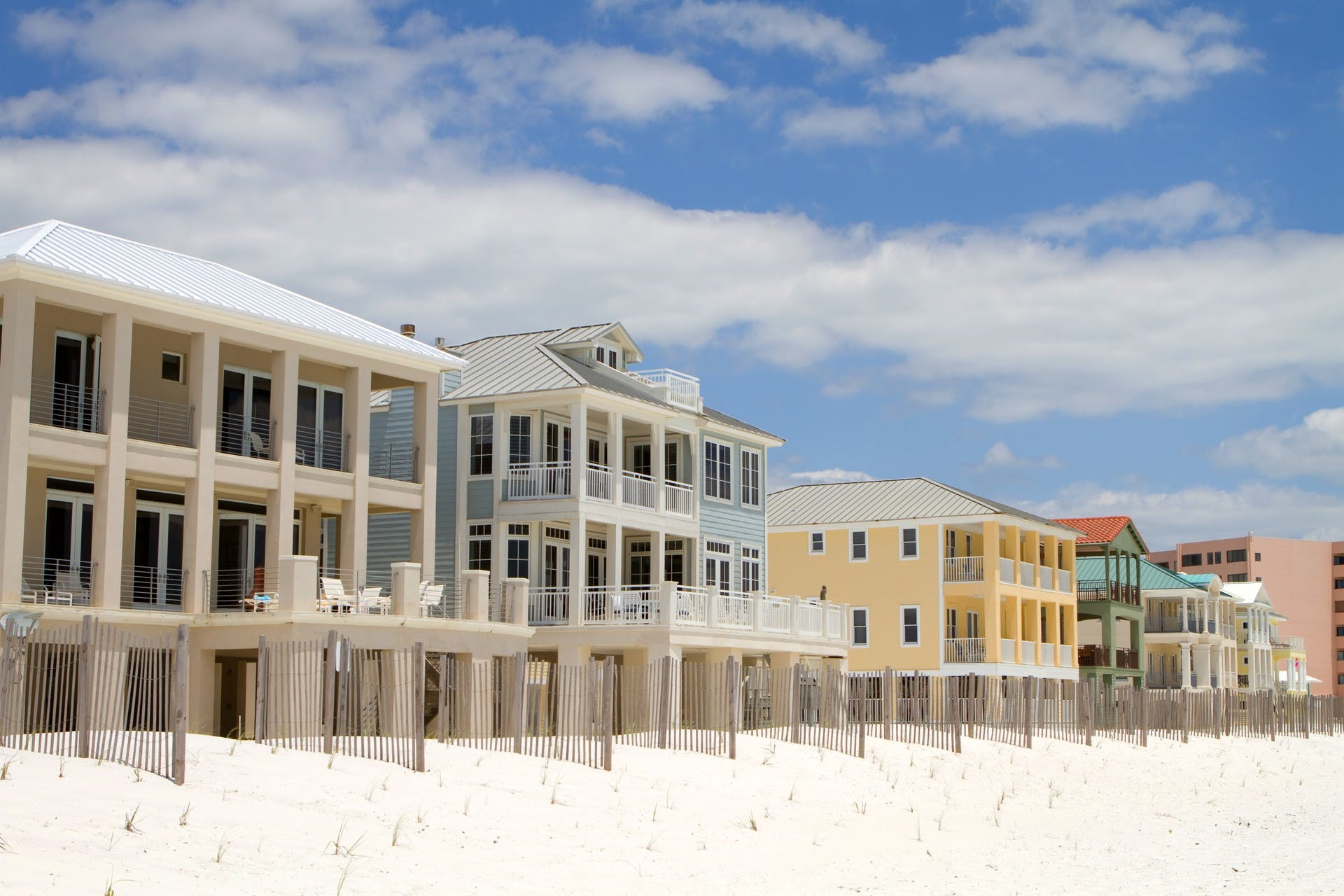 Vacation rentals located in Destin, FL