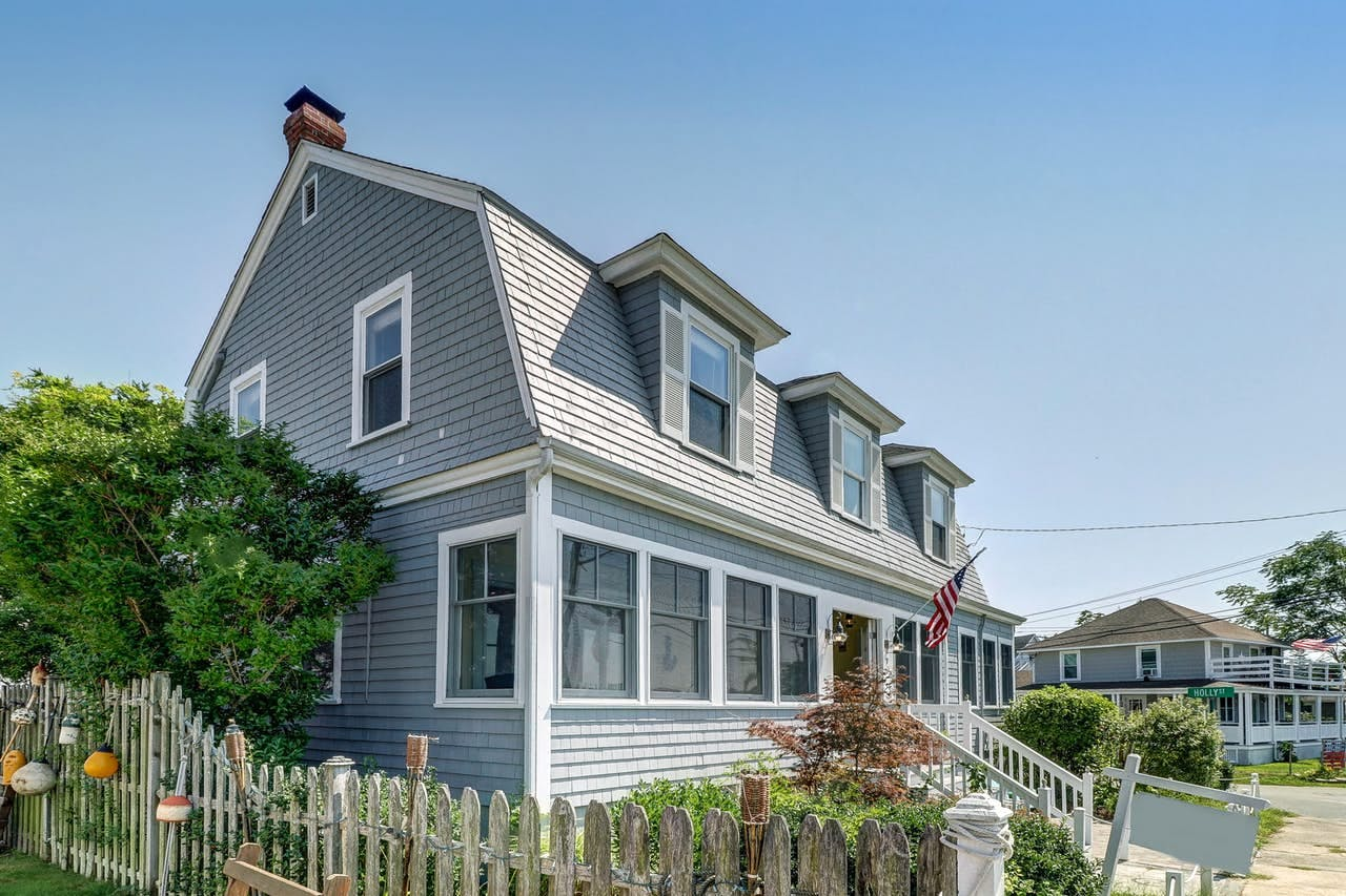 Two-story Cape Cod vacation rental home