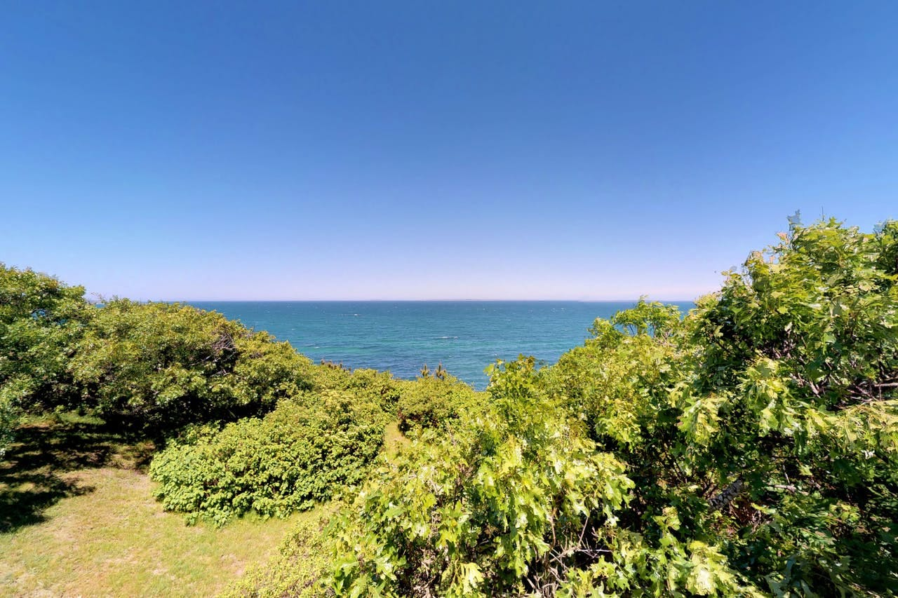 Waterfront view from Martha's Vineyard vacation rental