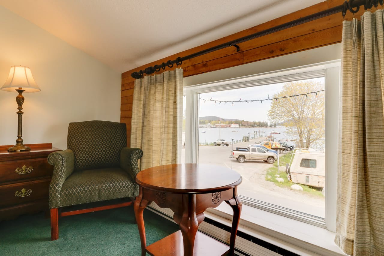 Interior of Dockside Inn vacation rental