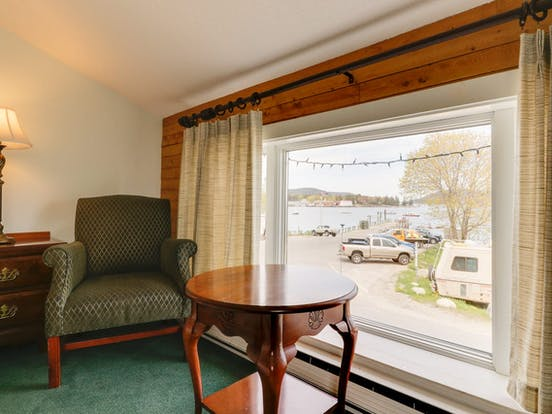 Interior of Dockside Inn vacation rental
