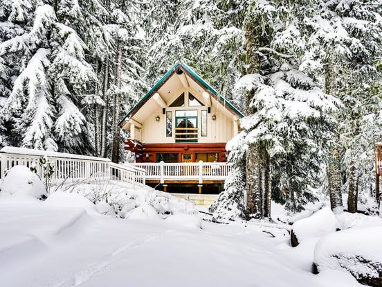 Vacation cabin in Government Camp, OR