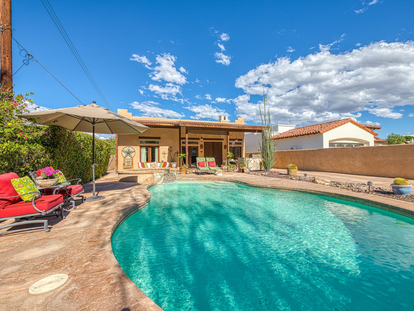 vacation rental in La Quinta, CA with private pool