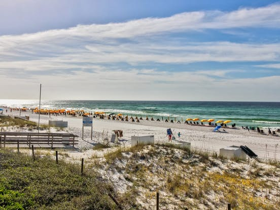 Miramar Beach, FL vacation rental with beach access